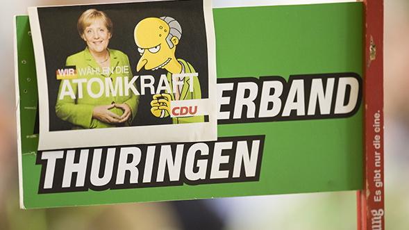 Merkel: Viser atomstop vej til en grøn-sort regering?
