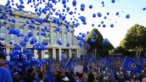 Valg i Georgien: Første reelle lakmusprøve for demokratiet