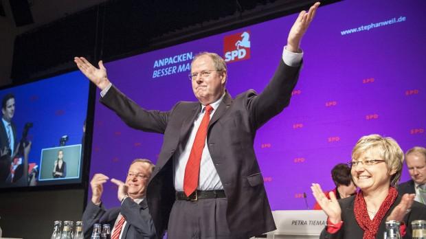 Det tyske valg: Steinbrück leverede endnu en bommert