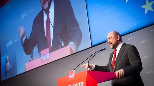 """Valg af ny Kommissionsformand SCHULZ: """"Jeg vil vende EU på hovedet"""""""