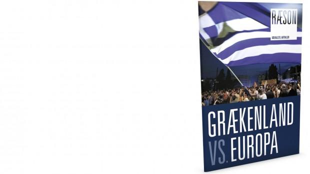 Premiere på nytundervisningssystem: Grækenland vs. Europa32 sider af og med Lykke Friis, Jesper Rangvid,Stine Bosse, Niels Westy,Morten Messerschmidt m.fl.