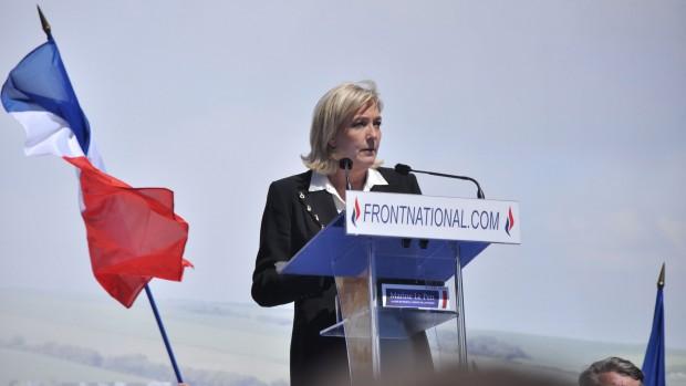 Front National gør klar til præsidentvalget: Tre-partisystemet