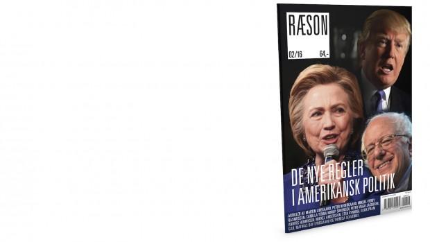 RÆSON26 er i kioskerne på torsdag 26/5:'De nye regler i amerikansk politik' Artikler af bl.a. Peter Viggo JakobsenMikkel Vedby RasmussenCamilla Tenna Nørup SørensenMikkel AnderssonSten RynningTheresa Scavenius m.fl.