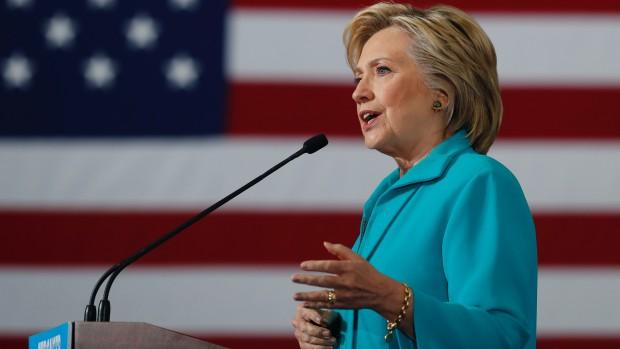 Hillary Clinton og Folkets Kærlighed