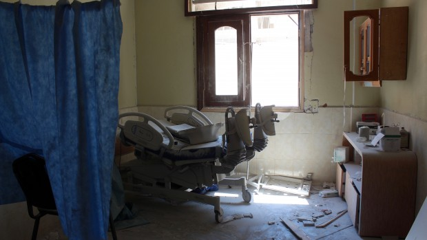 Syrien: Hospitaler er blevet et mål i sig selv for angreb