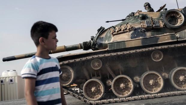 Erdogans indtog i Syrien viser, hvor presset han er