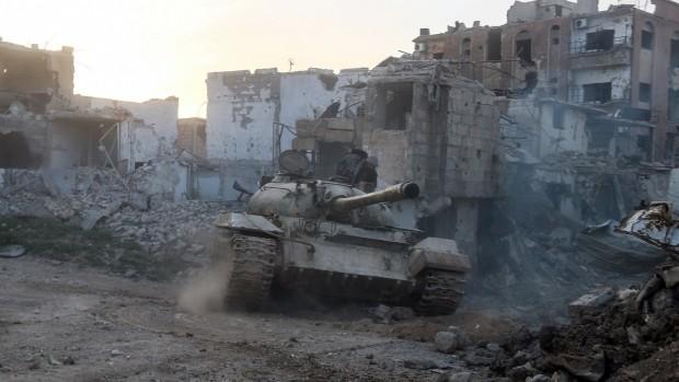 Selvsikkerheden spreder sig i Damaskus – og med god grundAf Rasmus Jacobsen