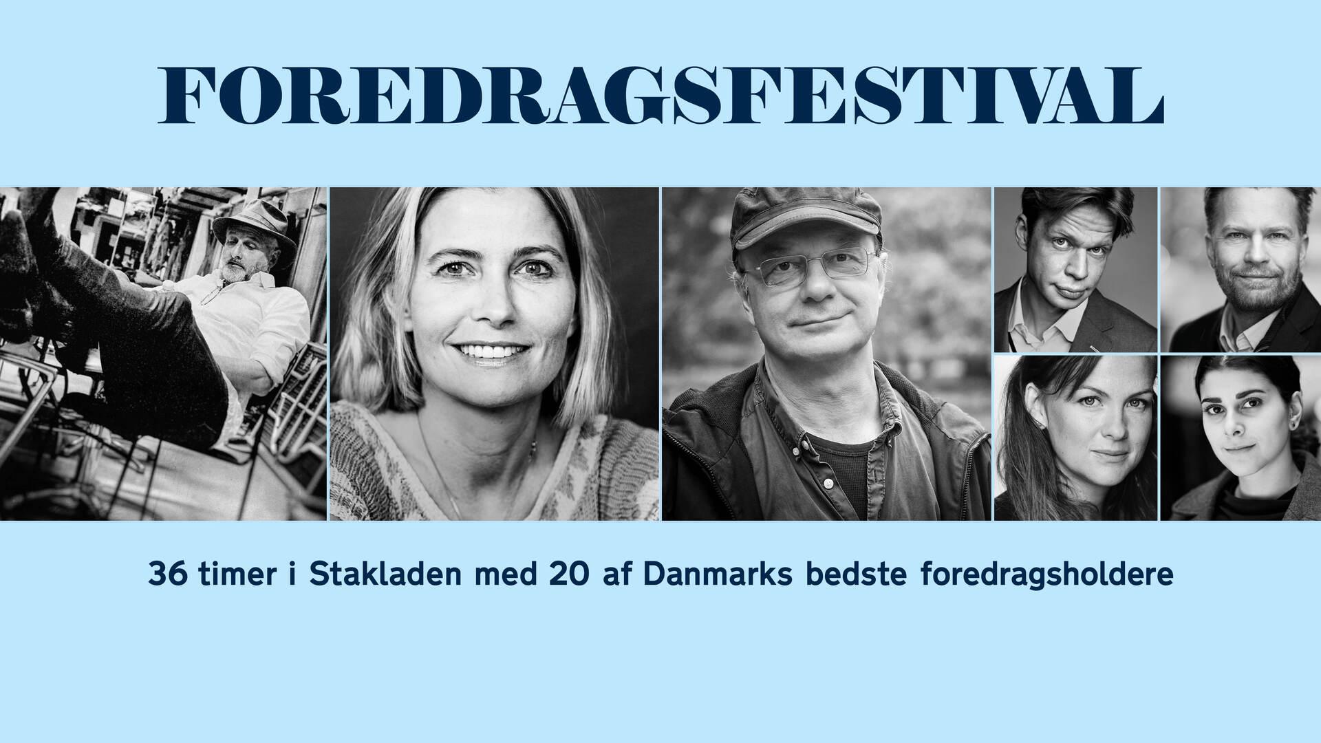 Danmarks nye Foredragsfestival i Aarhus: Premiere 24-25. november 2018