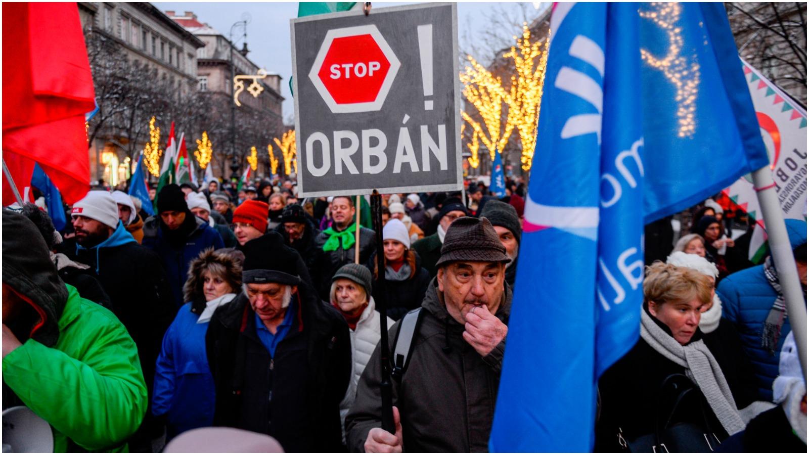 Ota Tiefenböck: De seneste dages uroligheder i Ungarn viser, at selv ikke Orbán er usårlig