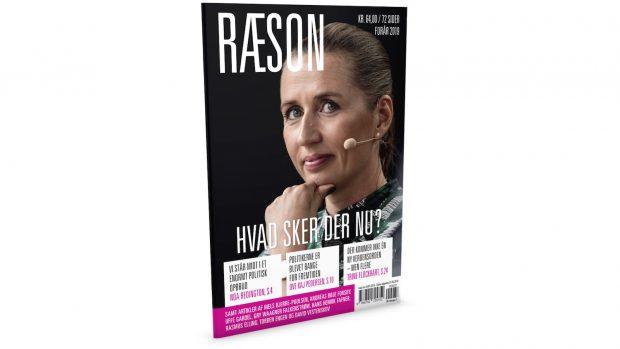 I kioskerne på torsdag 28/3: Det nye nummer af RÆSON. Abonnement: 250 kr./året (200 for studerende og pensionister)