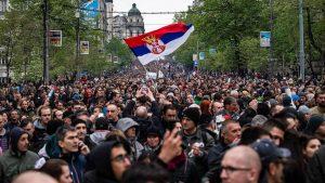 <font color=00008>Emma Krainert Friis efter de seneste måneders demonstrationer:</font color> Er Serbien ved at udvikle sig til et rendyrket autokrati?