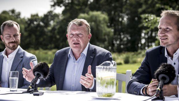 Bent Winther: Løkke har besluttet, at han bliver – og at han ikke kan være formand uden at være herre i eget hus