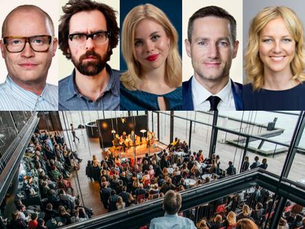 Politisk Salon: Morgenthaler, Jarlov, Auken, Nordqvist og Bøgevald Hansen