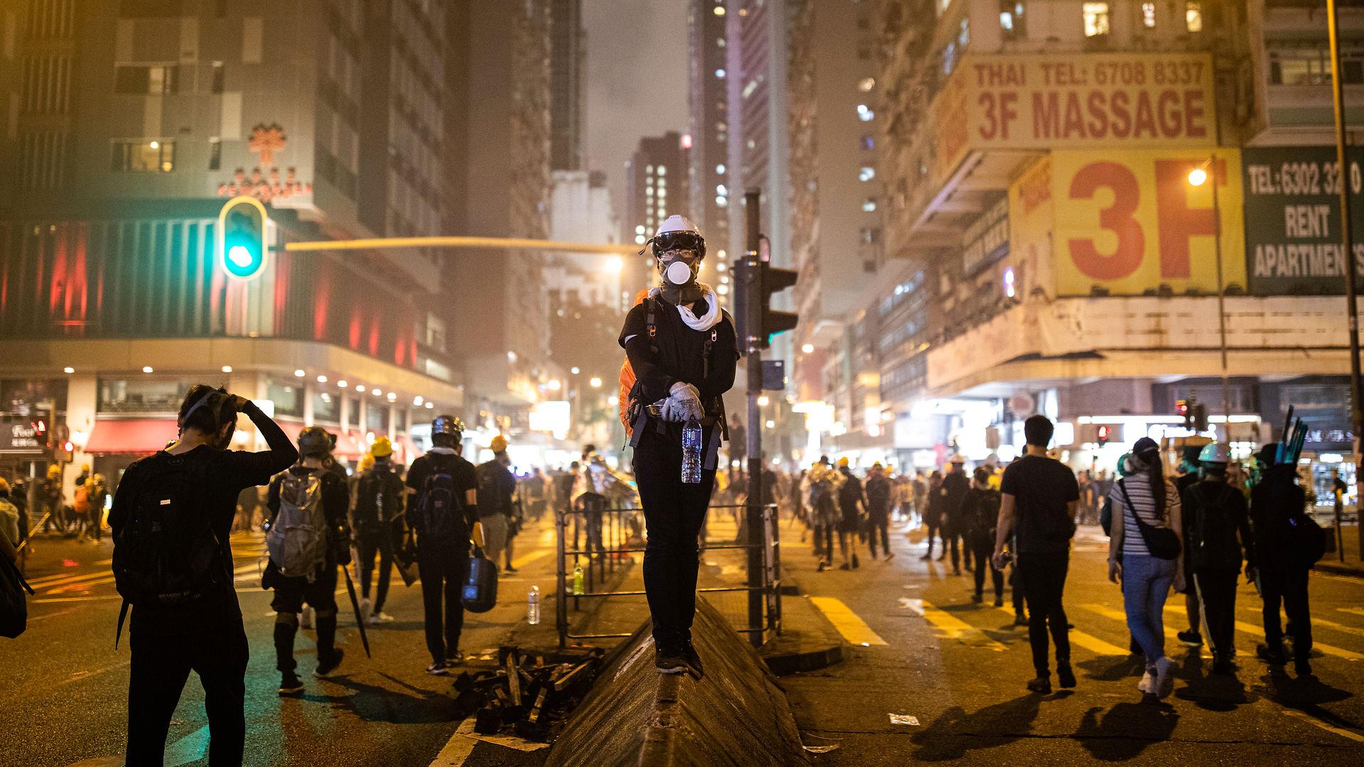 Protestleder i Hongkong Wong Yik Mo:  Vi forlanger intet andet end demokratiske rettigheder. Hvorfor vil Danmark ikke støtte os?