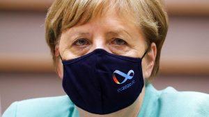 <font color=00008>Morten Løkkegaard:</font color=00008> Vil Merkel for alvor droppe sparepolitikken? Det er ikke det, hun lover - endnu