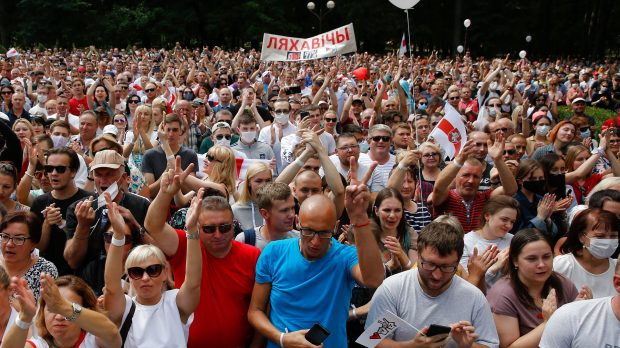 Thor Hjarsen om det danske nyhedsbillede: Hvor er Hviderusland i #dkmedier?