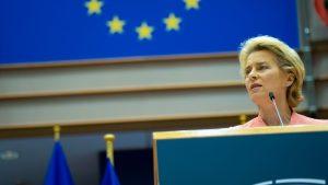 MEP Karen Melchior (RV) om Ursala von der Leyens state of the union-tale: Et tiltrængt opgør med fortiden, EU's migrationspolitik og Moria-lejrens humanitære katastrofe