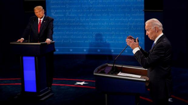 Anne Sofie Allarp: I nattens debat målte Trump sig med den rutinerede, professionelle karrierepolitiker Joe Biden
