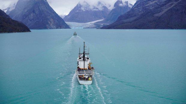 Anders Puck Nielsen i RÆSONs trykte magasin: Danmark har i dag kun fem reelle krigsskibe, og ingen af dem er designet til at operere ved Grønland