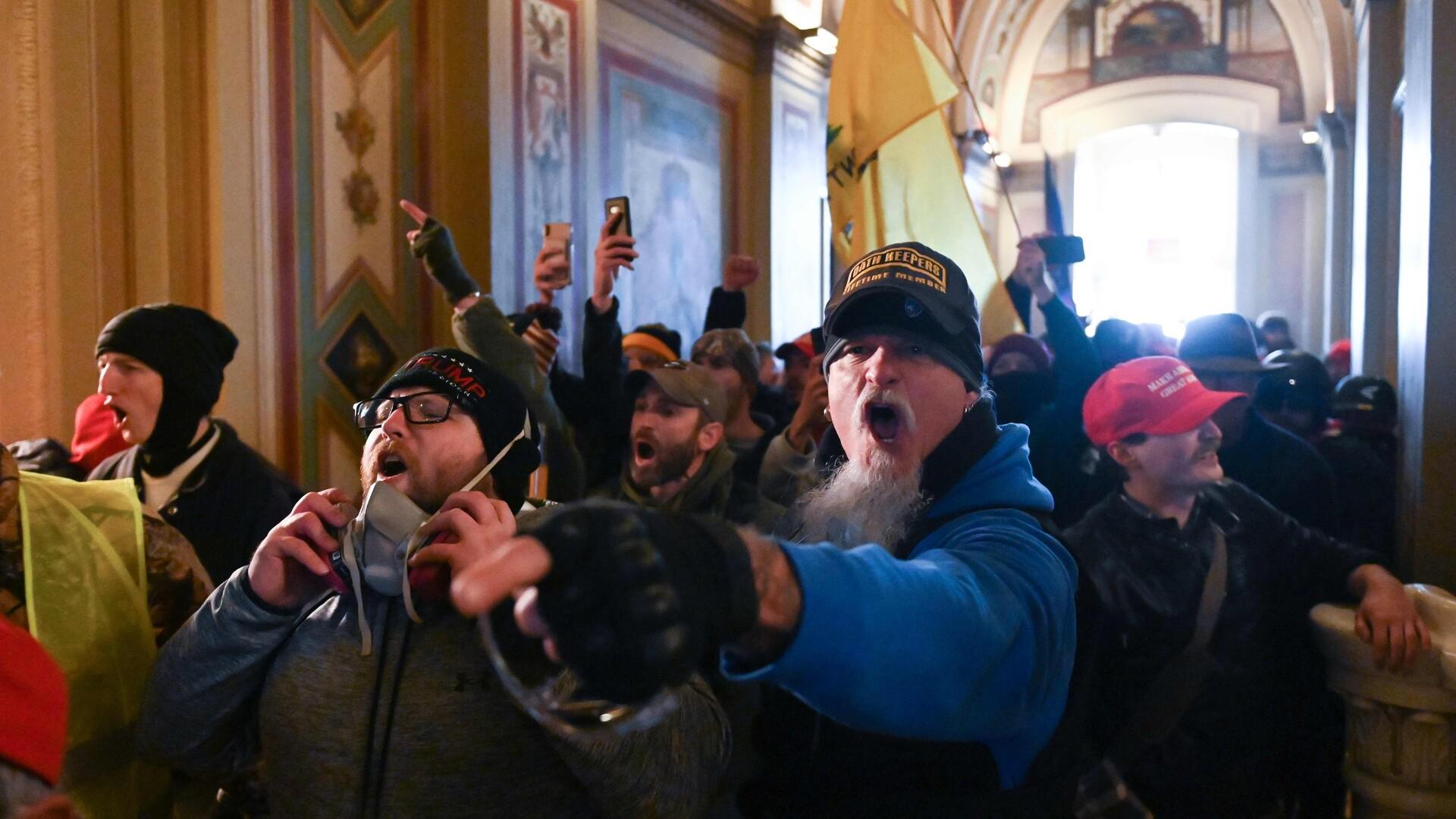 Kevin Loumann Eienstrand: Onsdagens angreb på Kongressen bliver kun starten på den amerikanske opstand