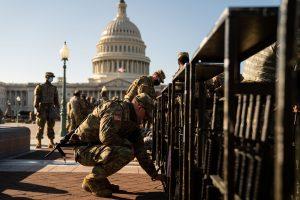 Forsvarsforsker Rasmus Dahlberg: Det store militære opbud i Washington er usædvanligt men ikke en problematisk militarisering af USA
