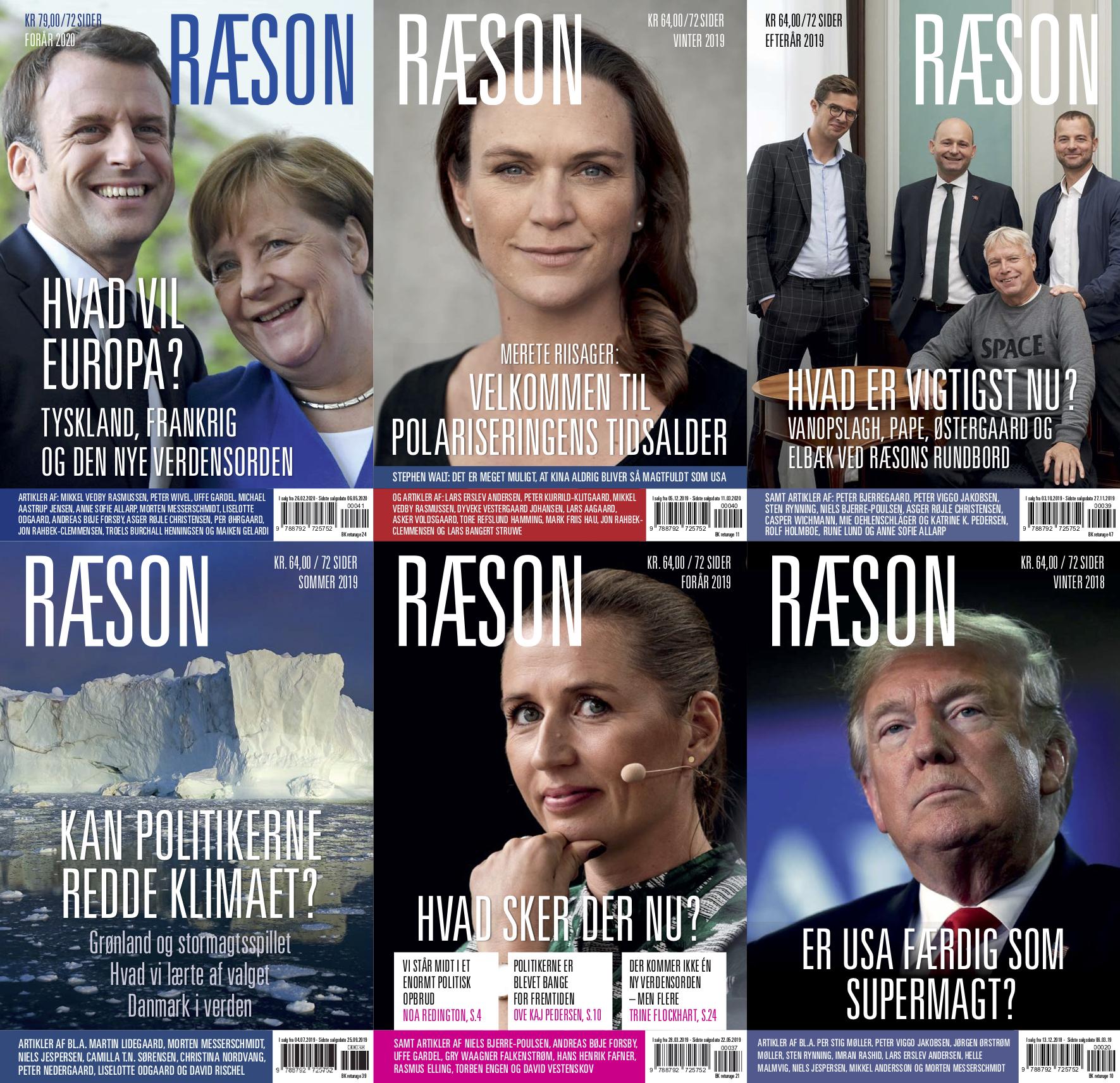 JOBOPSLAG: Chefredaktør til RÆSON med tiltrædelse 1. september